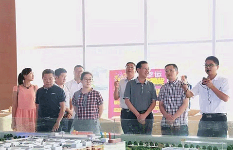 A deputy secretary of the Fuyang Municipal Party Committee visited the Hubei Xiangyuan Company to guide the work.